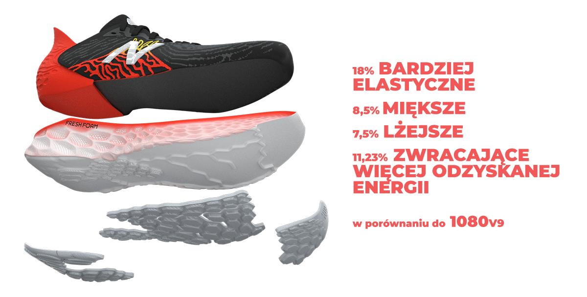 Buty do biegania New Balance Fresh Foam 1080v10