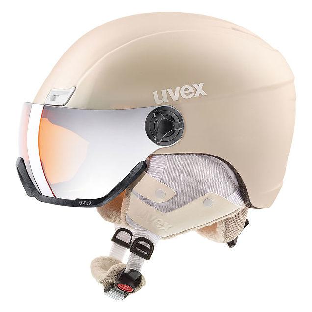 Kask narciarski Uvex Hlmt 400 Visor Style 566215