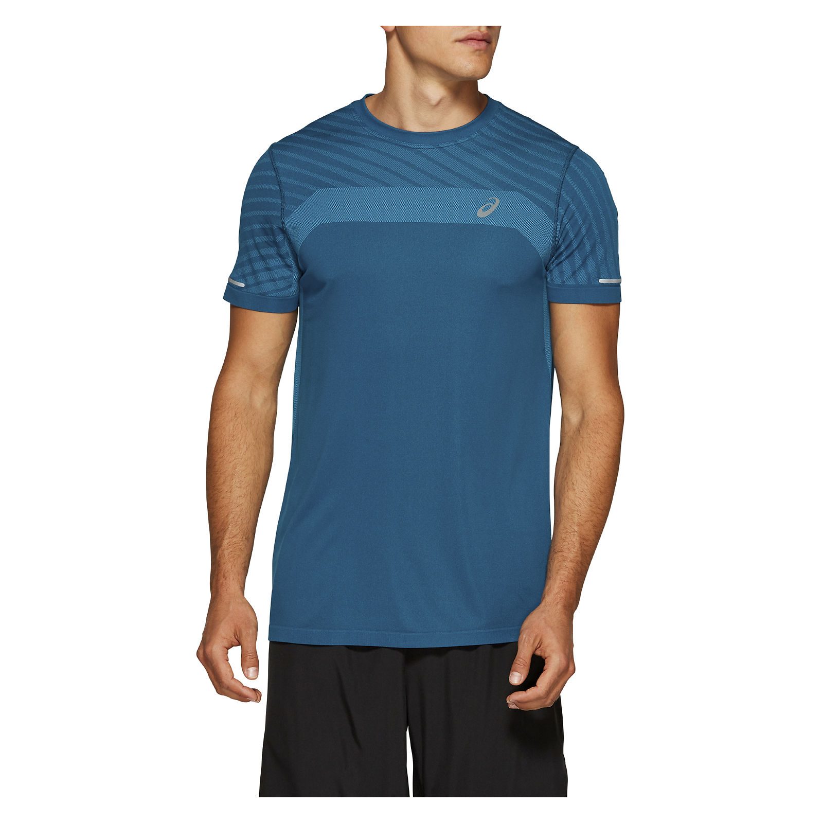 Koszulka męska do biegania Asics Seamless Texture 2011A601
