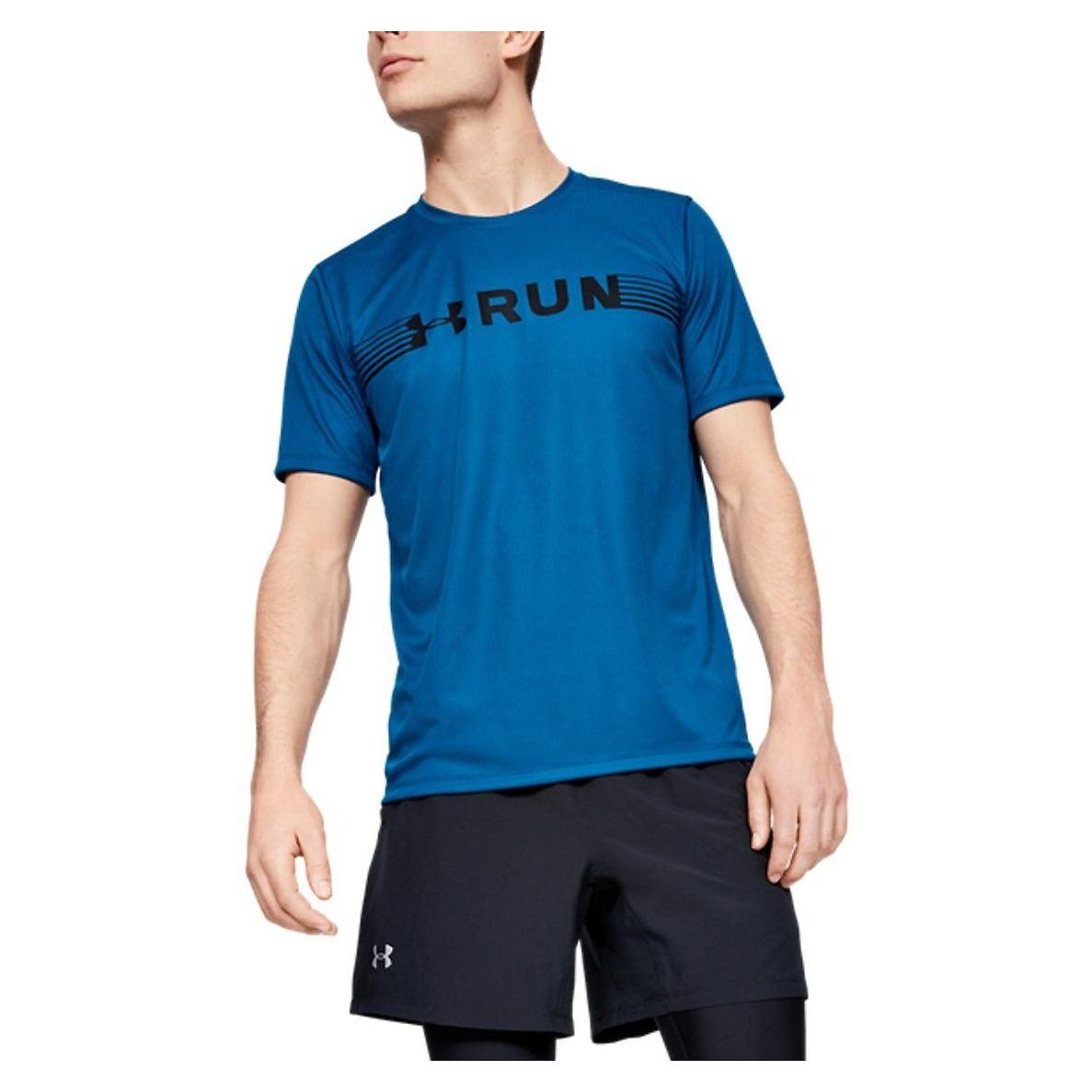 Koszulka męska do biegania Under Armour UA Run Warped 1342960