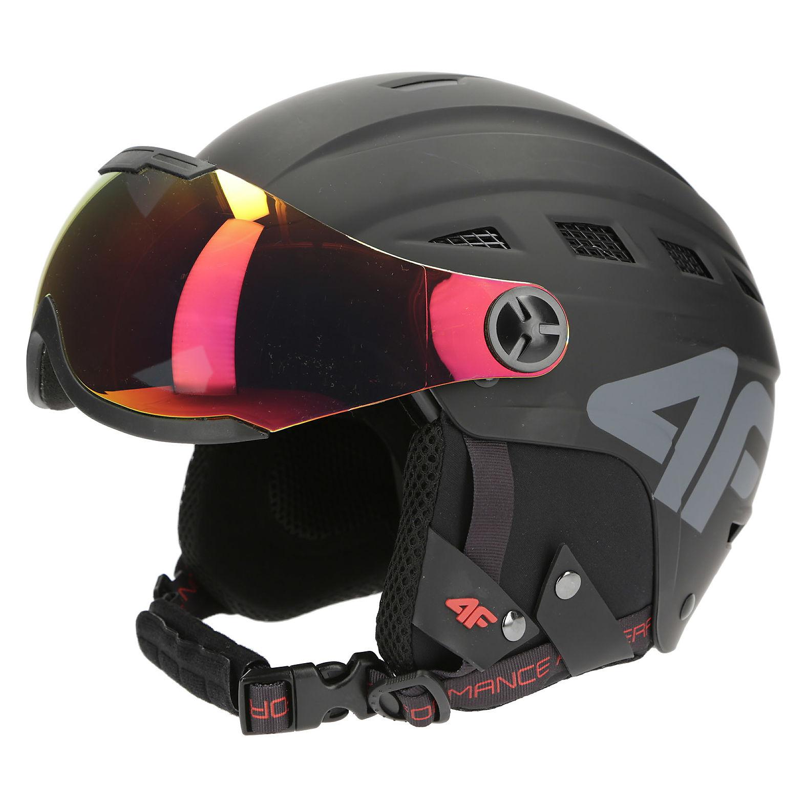 Kask narciarski 4F Visor S2 KSU003