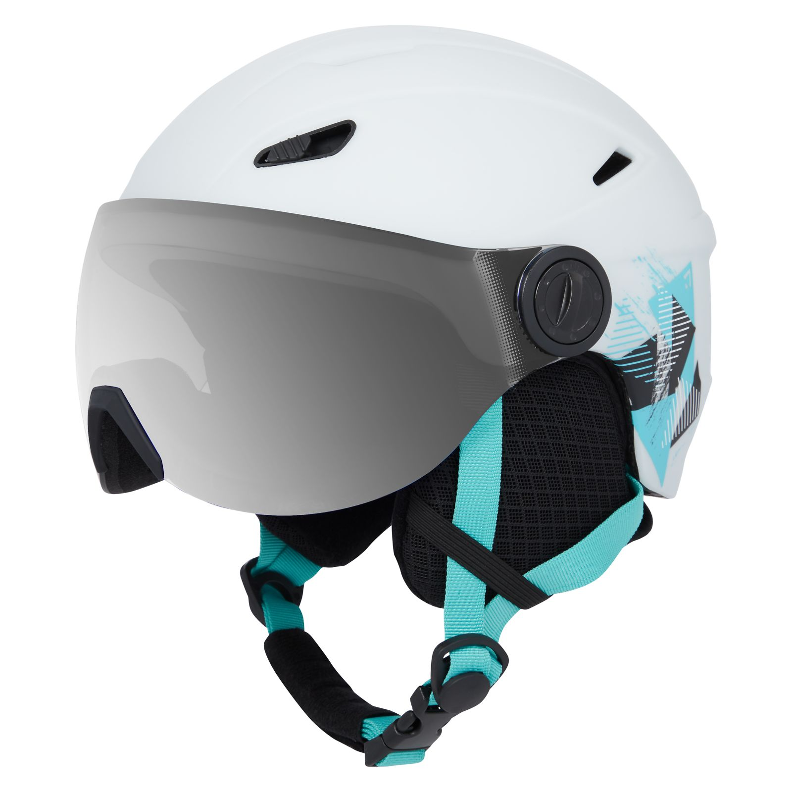 Kask narciarski dla dzieci TecnoPro Pulse Visor S2 HS-016 282381