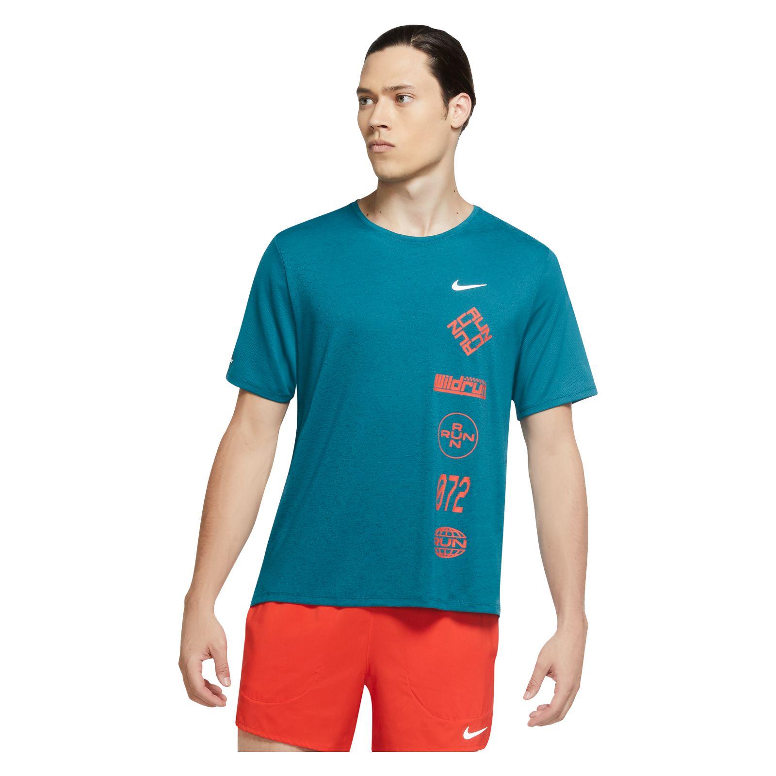 Koszulka do biegania męska Nike Miler Wild Run CU6038