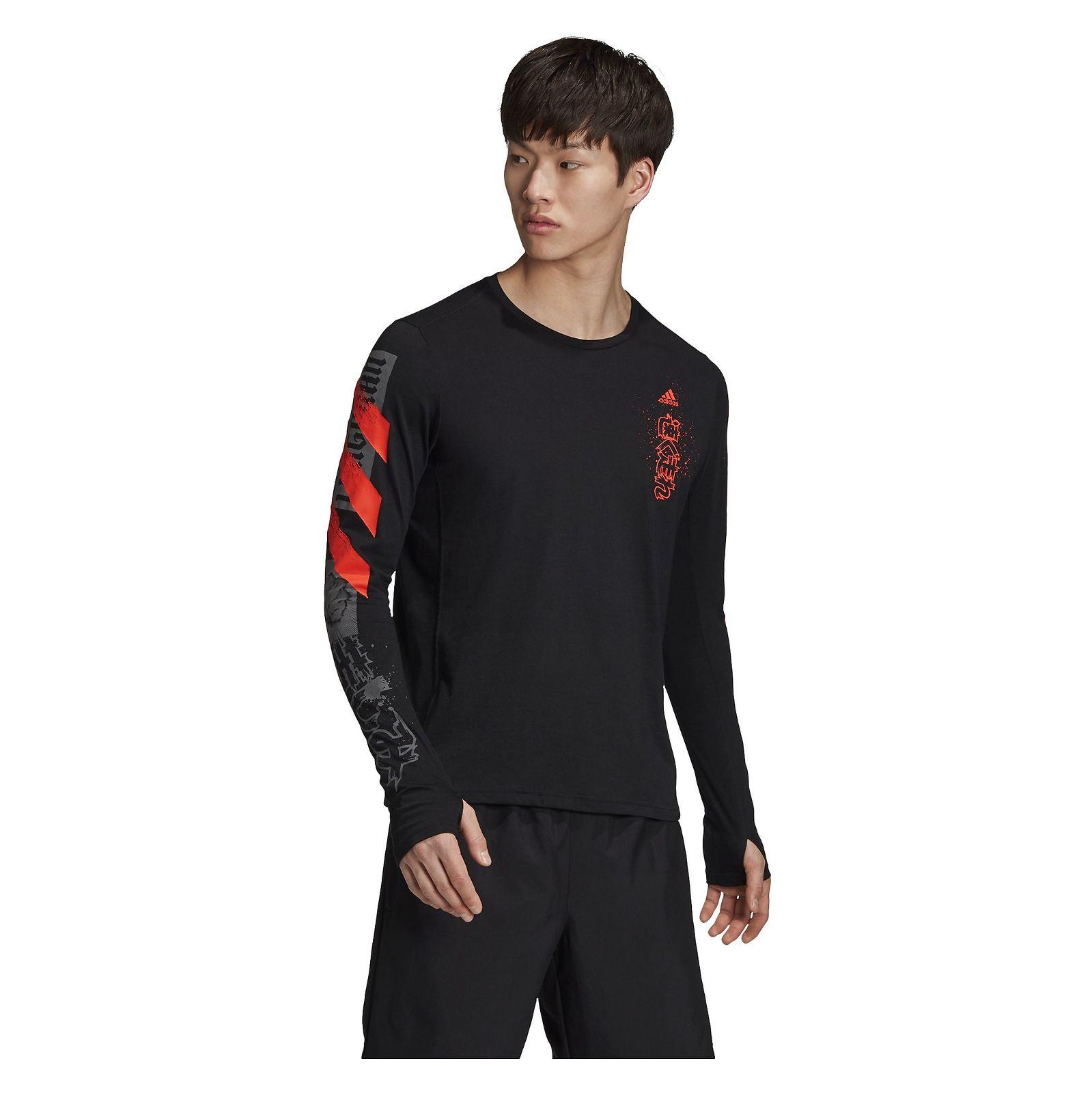 Koszulka męska do biegania adidas Fast Graphic FJ5000