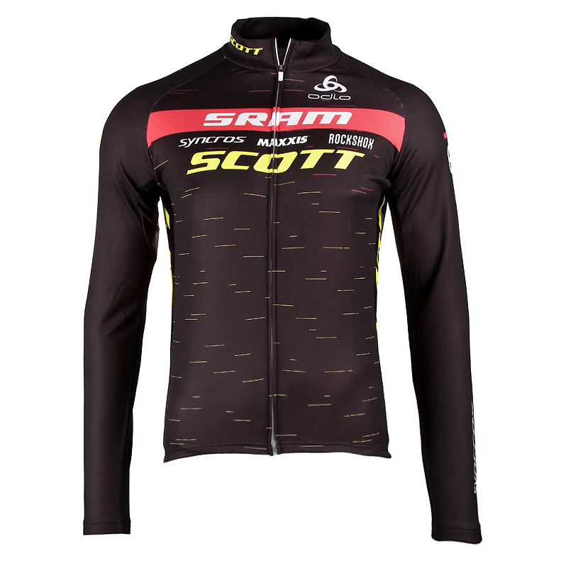 Bluza rowerowa męska Odlo 2021 Scott SRAM 430042