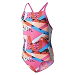 Strój adidas Graphic Swimsuit Jr BR5712