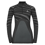 Bielizna Odlo Performance Black 1/2 Zip W 187111