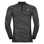 Bielizna Odlo Performance Black 1/2 Zip M 187112