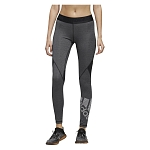 Legginsy damskie kompresyjne Adidas Alphaskin Badge Of Sport Tights EB3845