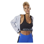 Biustonosz damski Reebok Wor Meet You There Seamless Padded DP6712
