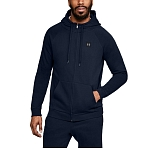 Bluza męska z kapturem Under Armour Rival Fleece Full-Zip 1320737