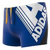 Kąpielówki dla dzieci adidas Fitness Logo Swim Boxers DY5086