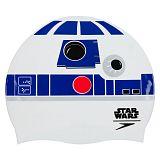 Czepek na basen dla dzieci Star Wars R2D2 Slogan Print 8-710110309