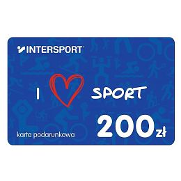 Karta podarunkowa INTERSPORT 200