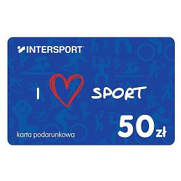 Karta podarunkowa INTERSPORT 50