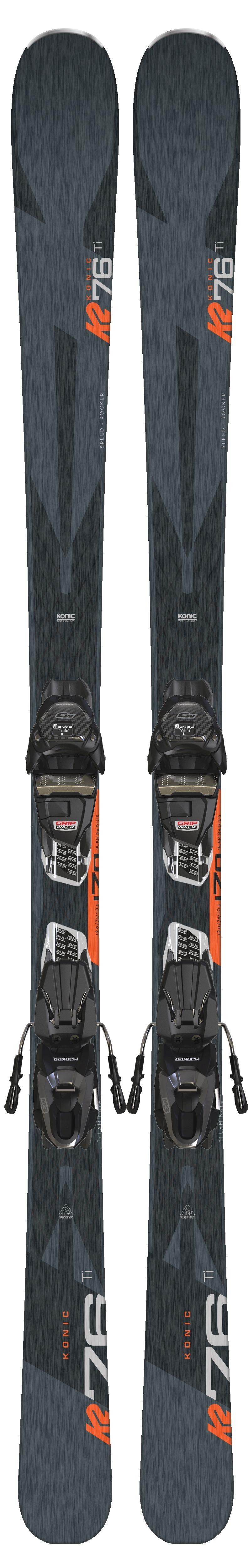 Narty K2 Konic 76 Ti + M3 10 Compact QuikClik