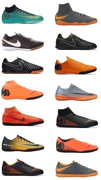 Halówki, buty halowe Nike, Adidas