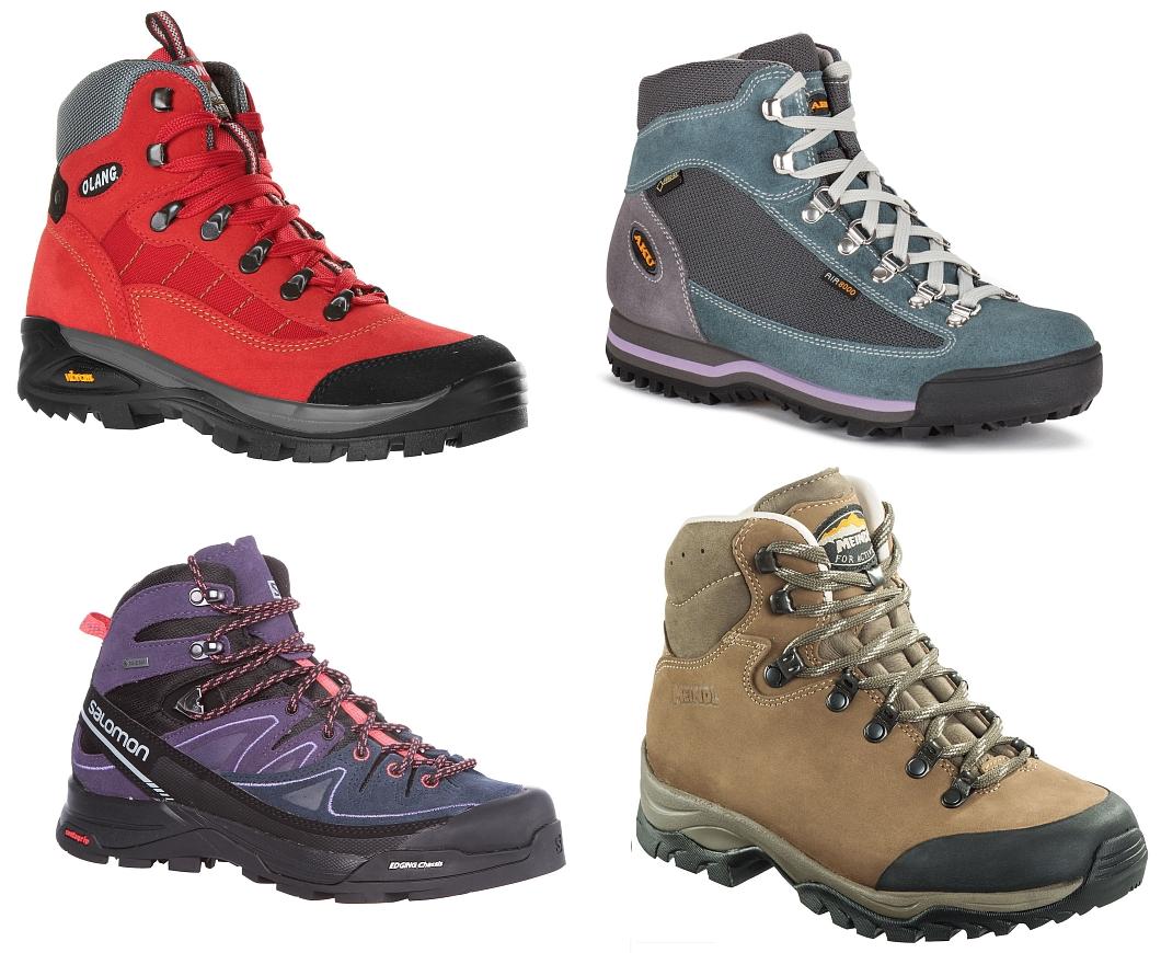 Buty trekkingowe damskie za kostkę Trekkingi damskie